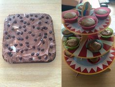 Week 3 saw Richard's mini toffee cup cakes challenge Louise's chocolate cake.  Congratulations to our Account Manager Louise as her chocolate cake was crowned the winner.