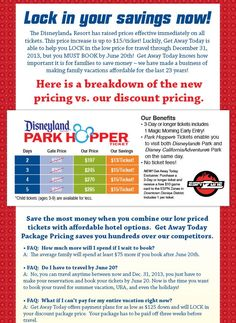 LAST CHANCE TO LOCK IN DISNEYLAND'S OLD TICKET PRICE! And,Top 20 Things To Do At Disneyland When It's Crowded (she: Kimberly) www.oneshetwoshe.com
