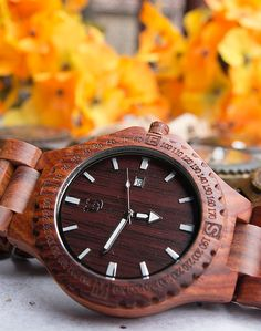 Special gifts for him- personalized/engraved wooden watches on sell, we offer special groomsmen gifts discounts, free shipping within USA.