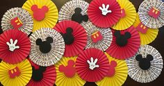 Mickey Mouse Rosettes