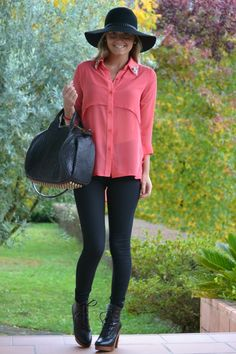 Camisa Coral, Plaid, Street Style, Womens Fashion, Fitness, Outfits, Diy, Closet, Stylish Clothes