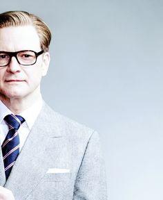 """Colin Firth // Kingsman: The Secret Service [2015] promo """