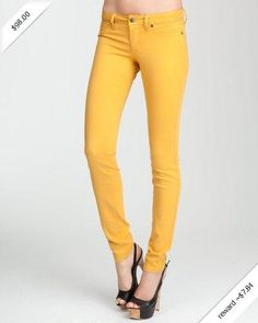 Signature Stretch Color Skinny Jean - NARCISSUS (31)