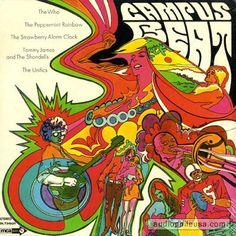 Who / Peppermint Rainbow / Strawberry Alarm Clock / Unifics - Campus Beat (Vinyl, LP, Album) at audiophileusa
