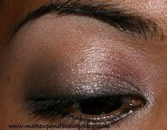 Tutorial: A Black and Gold Smokey Eye