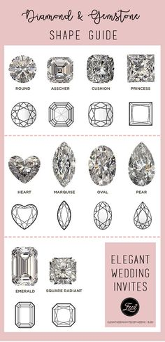 top 10 diamond & gemstone shape guide for your engagement rings Engagement Ring For Her, Design Your Own Engagement Rings, Engagement Ring Styles, Ring Settings Only, Diamond Gemstone, Diamond Rings, Lab Created Diamonds, Yellow Gold Rings, Wedding Ring Bands