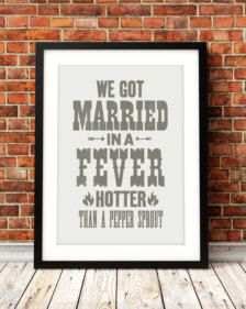 Typography in Prints & Posters - Etsy Art - Page 3