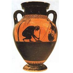 Exekias amphora - the suicide of ajax