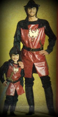 Child Knight Renaissance Costume by TheHouseOfZuehl on Etsy, $75.00