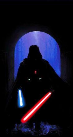 A long time ago in a galaxy far, far away. Star Trek, Star Wars Art, Luke Skywalker, Darth Vader, Dark Side, Art Zombie, Le Retour Du Jedi, Jedi Sith, Star Wars Wallpaper