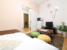 Osaka HG Studio Apartment in Shin Osaka No 14 Japan, Asia HG Studio Apartment in Shin Osaka No 14 is conveniently located in the popular Umeda area. The hotel offers a high standard of service and amenities to suit the individual needs of all travelers. Free Wi-Fi in all rooms, private check in/check out, elevator are just some of the facilities on offer. Each guestroom is elegantly furnished and equipped with handy amenities. The hotel offers various recreational opportunitie...