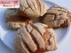 Je teste vos recettes : les conchas de la cocinera loca - SAVEUR PASSION
