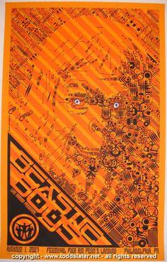 2007 Beastie Boys - Silkscreen Concert Poster by Todd Slater