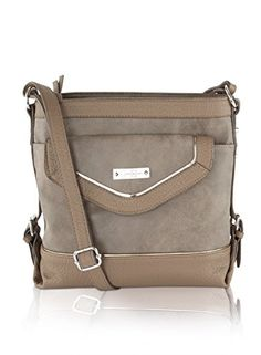 Jessica Simpson Britney Crossbody Bag - Truffle *** Read review @