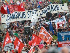 """""""Blockupy"""" - Mehr als protestieren in Frankfurt"""