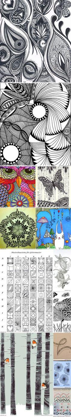 Zendoodle Patterns