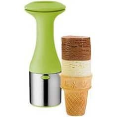 "stackable ice cream ""scooper"""