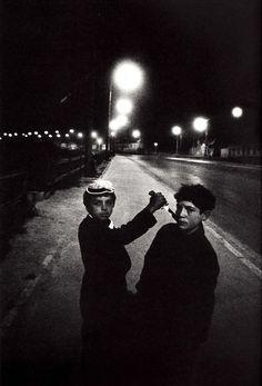 © Josef Koudelka, Magnum Photos Slovakia, From the book, Koudelka: Gypsies. French Photographers, Street Photography, Urban Photography, Night Photography, Color Photography, Magnum Photos, Black And White Photography, Chasing Lights, Photo Art