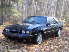 1985 Mustang GT in Triple Black!! Looking back I liked the car, but it really ugly now. Should have gotten a Camaro.