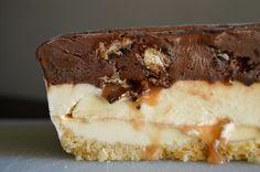 Samoa Cookie Ice Cream Cake