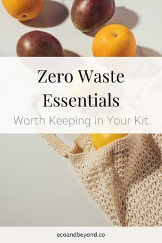 Going zero waste doesn't have to mean completely overhauling your life, small changes still help. Here's the zero waste essentials you need in your life!