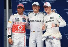 Formula One: Rosberg roars to pole for Chinese GP
