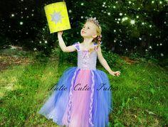 Rapunzel Tutu Dress NB4t by TutieCutieTutus on Etsy, $42.00