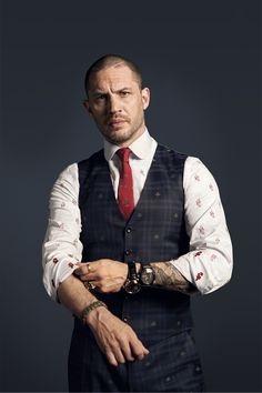 """At Home(Base) with Tom Hardy"" (article) 