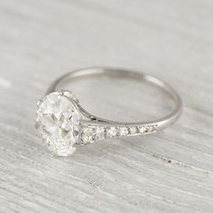 The Best Breathtaking Vintage Engagement Rings Collections (19) – OOSILE