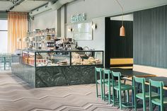 Note Design Studio uses desert colours in Stockholm bistro FineFood Kärlek och Mat