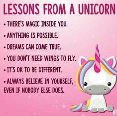 New quotes funny birthday thoughts ideas Unicorn Birthday Parties, Unicorn Party, Baby Unicorn, Funny Birthday, The Words, Positive Quotes, Motivational Quotes, Funny Quotes, Funny Unicorn Quotes