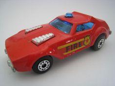MATCHBOX LESNEY #64 FIRE CHIEF SUPERFAST 1976
