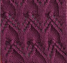 Cloisters Square #free #knit #knitting #pattern #motif #square #freepattern #freeknittingpattern