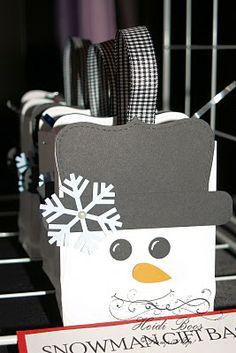 Snowman Bag