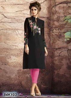 Buy this Decent Black Coloured Georgette Kurti at reasonable rate from Satrani Fashion. Bollywood Designer Sarees, Latest Designer Sarees, Pakistani Dresses, Indian Dresses, Shifon Dress, Wedding Lehenga Online, Designer Kurtis Online, Fancy Kurti, Designer Party Wear Dresses