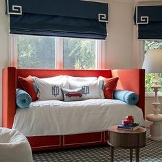 Red Daybed, Contemporary, boy's room, Palmer Weiss