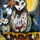 Owl spirit Guide 2 I will never leave your side by EnserCreations, $150.00