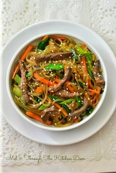 SOUTH KOREA: Japchae with Beef Bulgogi Global Holiday Recipes: 21 Delicious Traditions You'll Love, From Around The World