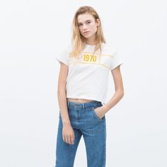 Zara Tops - Zara 1970 Tshirt