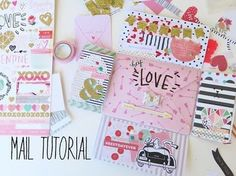 Mail Tutorial - Valentines Theme - YouTube
