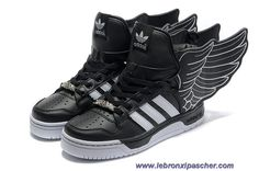 Chaud Adidas X Jeremy Scott Wings 2.0 Chaussures Noir