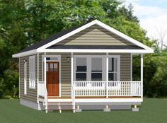 18x30 Tiny House -- 540 sq ft -- PDF Floor Plan - Model 4D | Home & Garden, Home Improvement, Building & Hardware | eBay!
