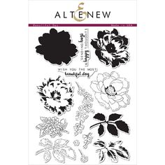 Altenew BEAUTIFUL DAY Clear Stamp Set  at Simon Says STAMP!