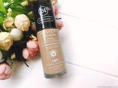 Revlon Colorstay Makeup for Combination / Oily Skin Foundation Review: Ich liebe und ich hasse diese Foundation. Nuance 180. Ich zeige ihre wundervolle Deckkraft, erzähle auch über ihre Nachteile, aber werde sie trotzdem empfehlen. Vorher / Nachher Fotos.