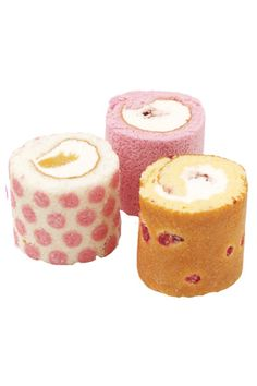 Mini rolled cake of Irina (Japan) could do as mini mousse cakes with printed sponge