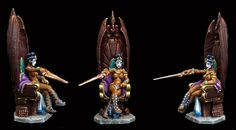 Forge of Ice miniatures, painted by Roy Duffy