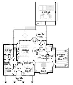 Bungalow Cottage Country Craftsman Level One of Plan 76923