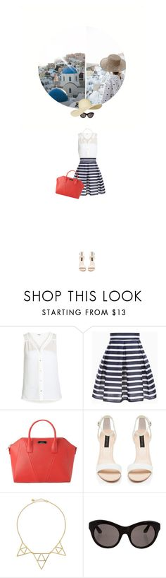 """""""How to Wear: Stripes"""" by fashionbrownies ❤ liked on Polyvore featuring ONLY, MANGO, Forever New, Jules Smith, Elizabeth and James, Topshop, stripes, summerstyle, polyvoreeditorial and summer2017"""