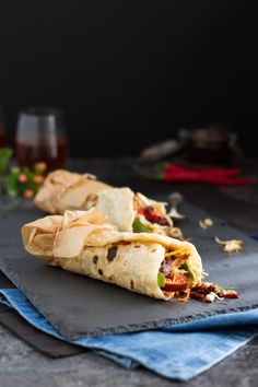 Indonesische Wraps mit Sambal Oelek Pulled Pork