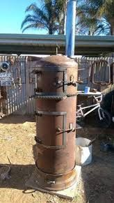 Meat Smoker Made From Our Old Hot Water Heater Works